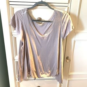Free people lilac top